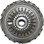 Dual plate clutch with sheet metal housing