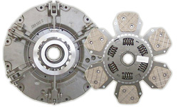 Clutch kits for tractors and other agricultural machinery